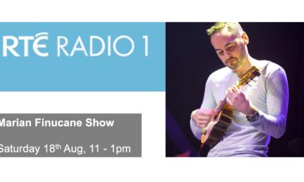 Catch George Elmes on the Marian Finucane Show, RTE Radio 1