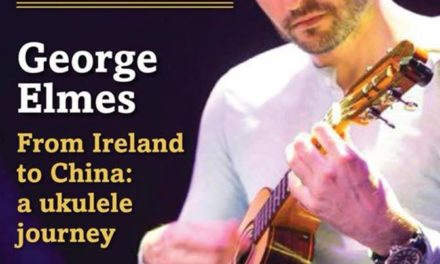 George Elmes on the cover of Uke magazine