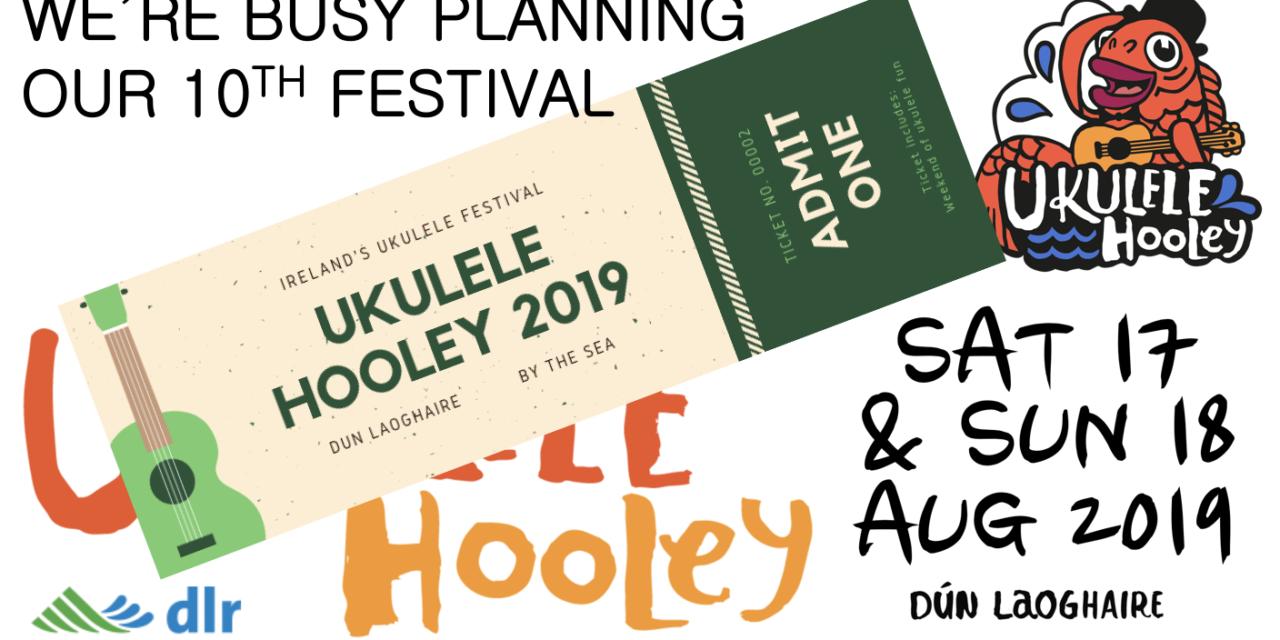 10th ANNIVERSARY UKULELE HOOLEY